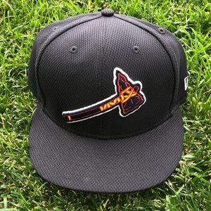 Atlanta Braves 5950 new era cap sz 7 1/2